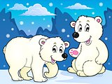 Polar bears theme image 1