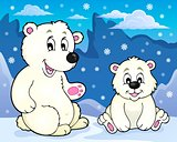 Polar bears theme image 2