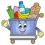 Shopping cart theme image 2
