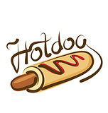 Vector Hot Dog