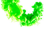 green abstract art