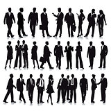 30 Standing Business People