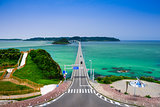 Tsunoshima Bridge in Japan