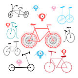 different of bikes