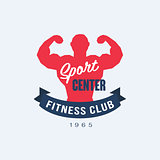 Fitness Emblems Vector Set