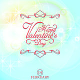 valentine's card white