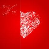 valentines heart rad