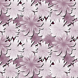 Abstract floral background. Flowers fabric.