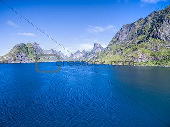 Fjord on Lofoten