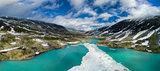 Norwegian mountain lake