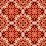 Seamless retro patterns red