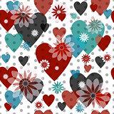 Seamless valentine pattern-new