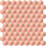 vector hexahendron seamless cells pattern