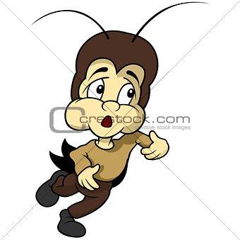 Small Cricket Running