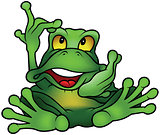 Chatty Green Frog