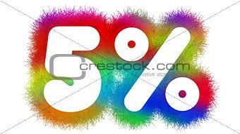 Five percent Title
