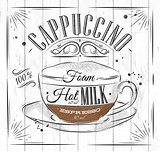 Poster cappuccino
