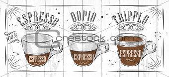 Poster espresso