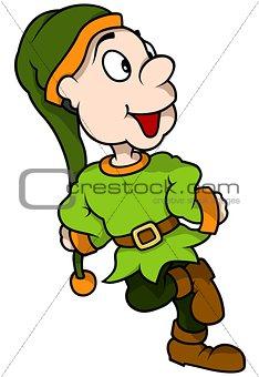 Green Dwarf Smiling