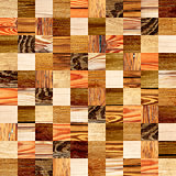 Seamless background with wooden patterns
