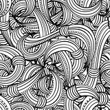 seamless black and white pattern abstract