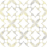 Vintage ornamental seamless pattern. Vector illustration, EPS10