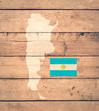 map of Argentine