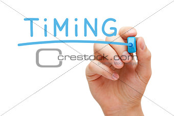 Timing Blue Marker