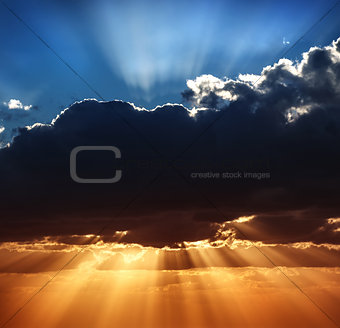 Beautiful sky landscape