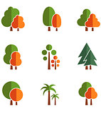 set tree icons