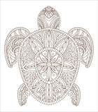 Turtle Zentangle Style