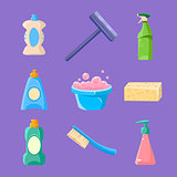 Cleaning and Housework Icons Collection
