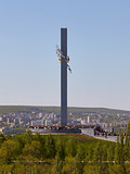 Monument Cranes in Saratov