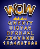 Festive Alphapet Font to use for children's parties invitations