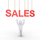 Person sales offering