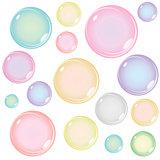 Colored Soap Bubbles