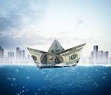 Banknote boat