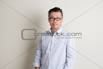Mature Asian male people