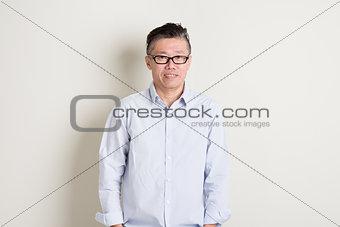 Mature Asian male portrait