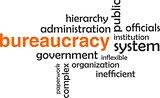 word cloud - bureaucracy