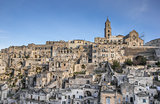 Cathedral in the historical center of Matera