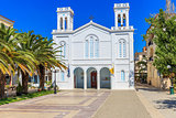 cathedral of Agios Nikolaos in Nafplion, Greece