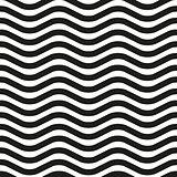 Wavy line zebra seamless pattern