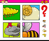 educational game with animals