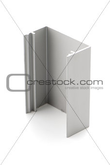 Aluminium profile sample