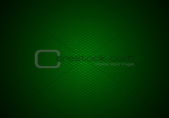 Green Hexagonal Background