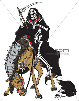 grim reaper on a horse