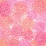 Abstract floral colorful background.