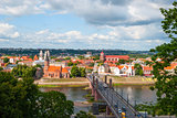 Skyline of Kaunas, Lithuania