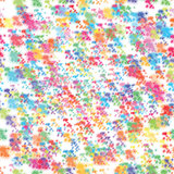 Seamless Background, Stars Confetti